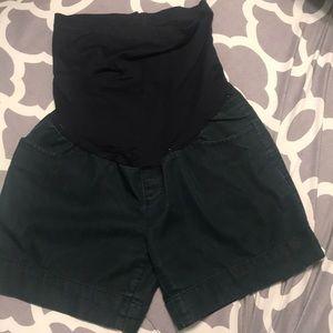 Pants - Cute NAVY maternity shorts. Size XS